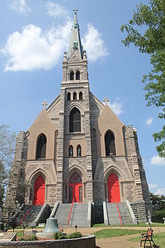 Old Church of St Joachim and St Anne - Mt Loretto - Staten Island - Aug 2015.JPG