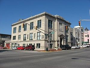 Bloomington City Hall - Old City Hall, November 2009