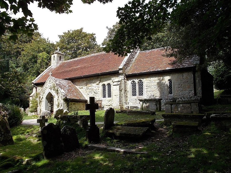 Old St Boniface Church, Bonchurch, IW, UK