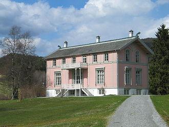 Ole Bull - Ole Bull villa at Valestrandsfossen