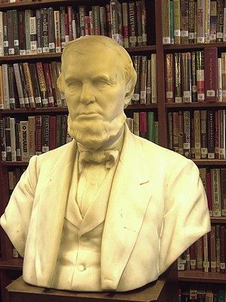 Oliver Ames Jr. - Image: Oliver Ames, Jr. (1807 1877) Ames Free Library