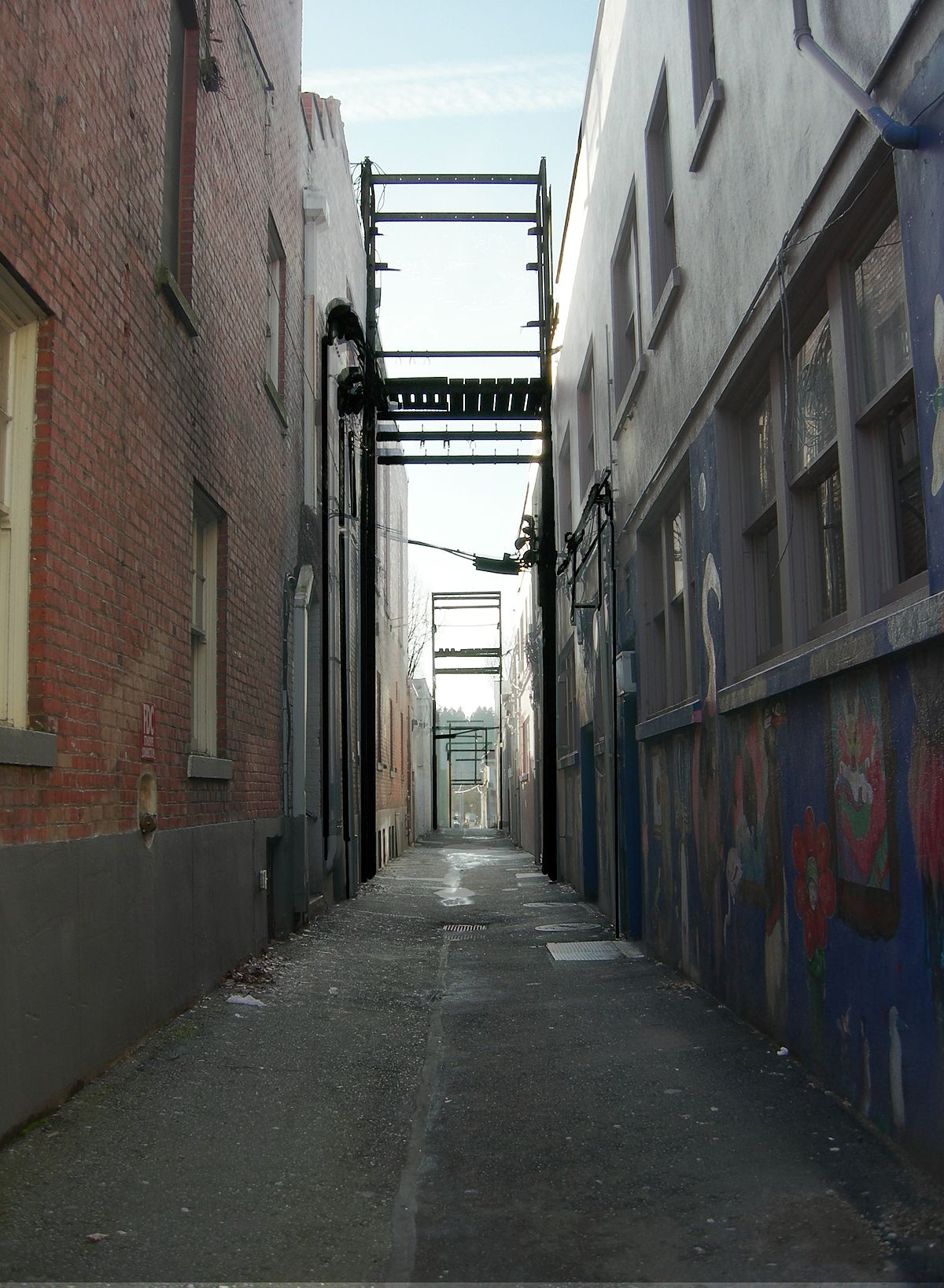alley - Simple English Wiktionary