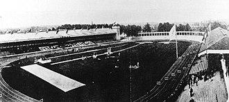 Olympisch Stadion (Antwerp) - Olympisch Stadion in 1920