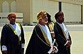 Omani Foreign Minister Yussef bin Alawi bin Abdullah Prepares To Greet Secretary Kerry (8771916814).jpg