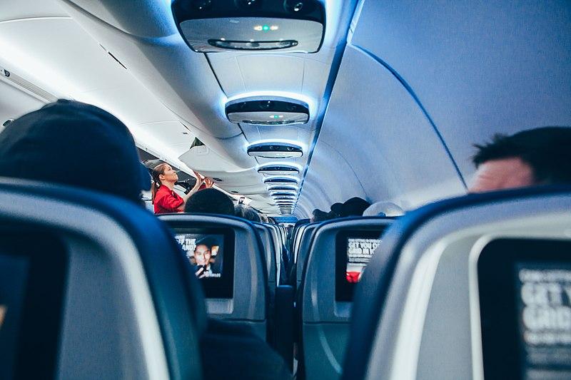 File:On a long plane flight (Unsplash).jpg