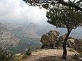On the way to Cedars of God, Mount Lebanon, Kadisha Valley, Lebanon.jpg