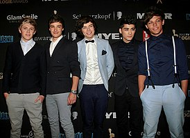 One Direction 2012.