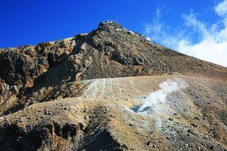 Ontake Prefectural Natural Park - Top of Mount Ontake, Volcano.