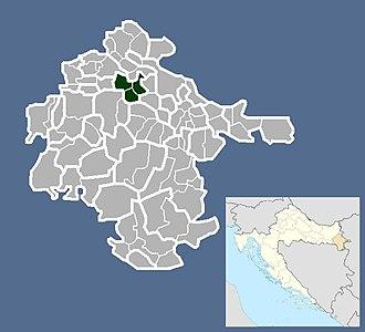 Nuštar - Image: Općina Nuštar