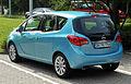 Opel Meriva (B) – Heckansicht, 12. Juni 2011, Ratingen.jpg