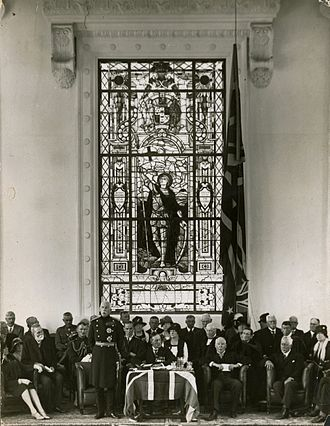 Wellington College, Wellington - Opening of the Memorial Hall, Wellington College