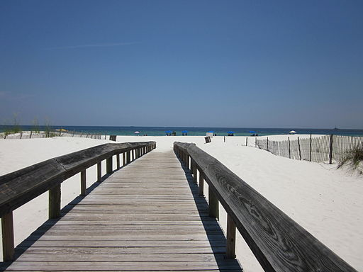 Orange Beach Beach Walkway
