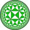 Order-5 tetrakis square tiling