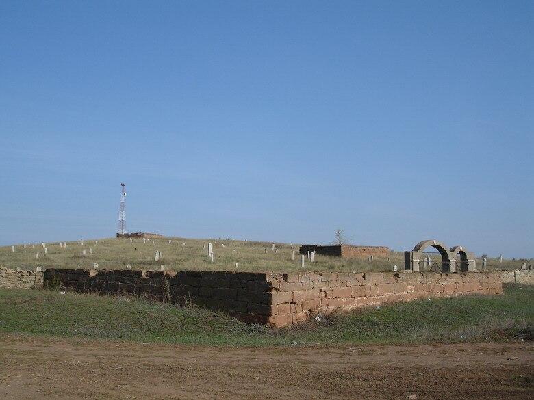 Orenburg oblast Kargala Old cemetery