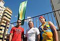 Organizers for decoration of Taguatinga for World Cup 2010-06-15.jpg
