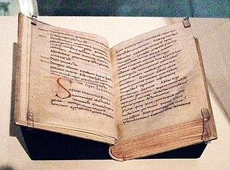 A 10th-century codex of Origo gentis Langobardorum from Reims Origo gentis Langobardorum.jpg