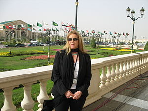 Orly Azoulay - Orly Azoulay in Riyadh during the Arab summit in 2007.