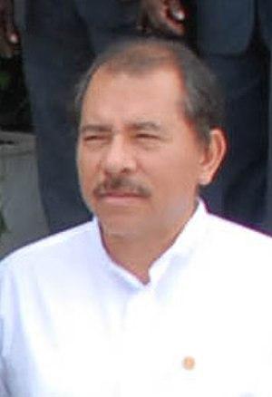 Sandinista National Liberation Front - Daniel Ortega.