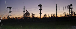 Ropes course - Image: Outdoor Adventure Challenge Course