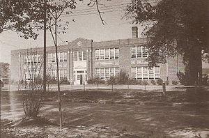 Robersonville, North Carolina - Outterbridge Grammar School / Robersonville Elementary School, used 1923-1974