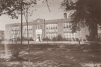 Robersonville, North Carolina - Outterbridge Grammar School / Robersonville Elementary School, used 1923-1974