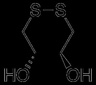 Dithioerythritol - Image: Oxidized DTT