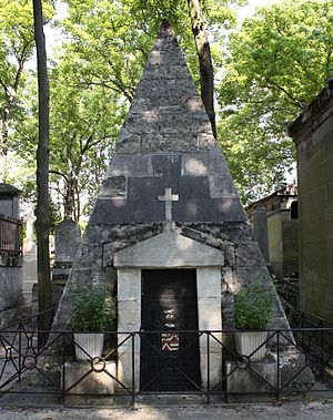 Quintin Craufurd - Grave of Quintin Craufurd in Père Lachaise Cemetery.
