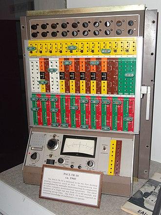 Analog computer - TR-10 desktop analog computer