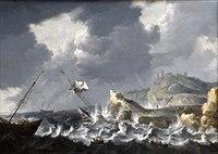 PEETERS Bonaventura 1640c Navires dans la tempête.jpg