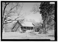 PERSPECTIVE VIEW - Alfred Llorens House, State Highway 119, Natchitoches, Natchitoches Parish, LA HABS LA-1346-1.tif
