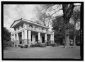 PERSPECTIVE VIEW LOOKING FROM THE SOUTHEAST - Steamboat House, 200 Jefferson Street, Natchitoches, Natchitoches Parish, LA HABS LA-1354-1.tif