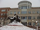 PG courthouse winter