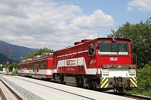 Pinzgauer Lokalbahn - Image: PLB Vs 81 Bramberg 2010