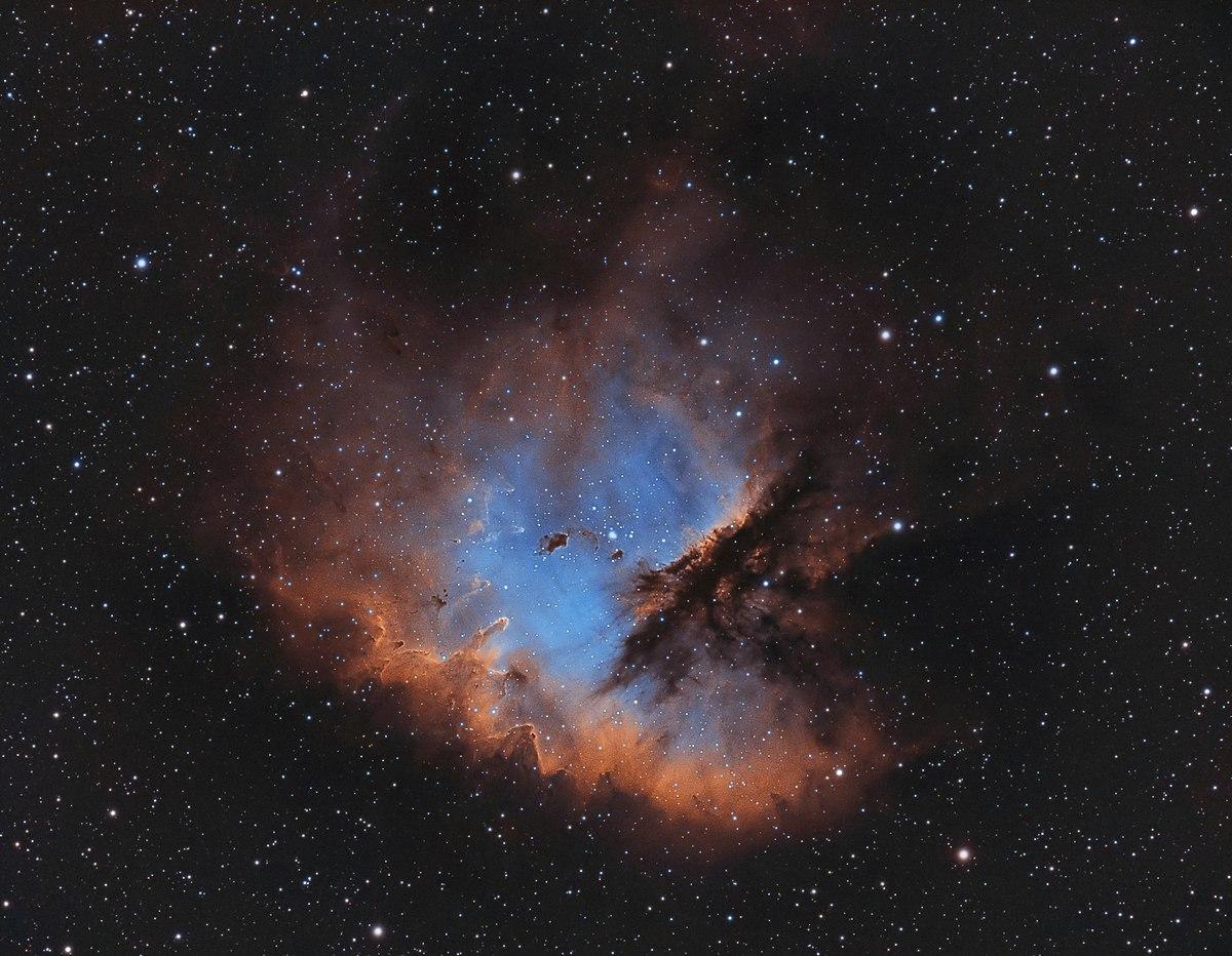 pacman nebula - photo #3