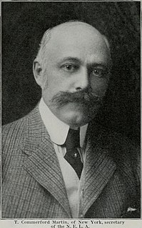 Thomas Commerford Martin American engineer