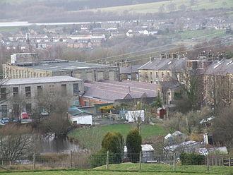 Hadfield, Derbyshire - Hadfield Mills, Padfield