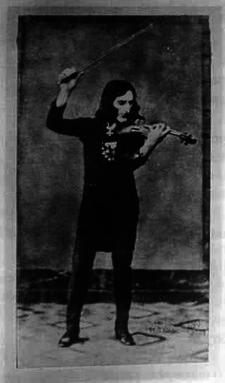 Niccolò Paganini, jedna ze známých osobností s Marfanovým syndromem