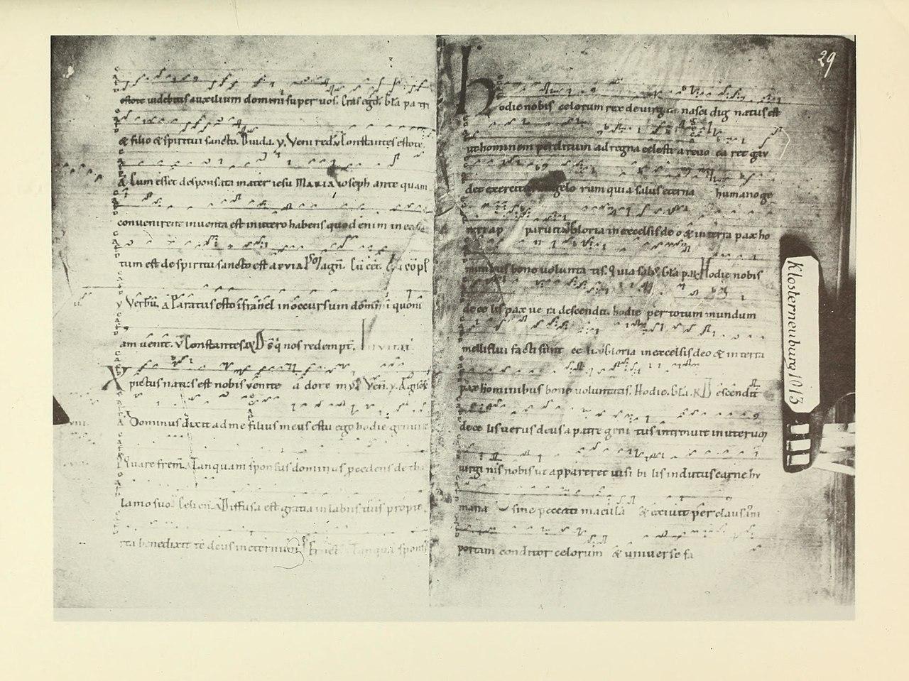 Paléographie musicale - fac-similés phototypiques des principaux manuscrits de chant grégorien, ambrosien, mozarabe, gallican (1889) (14597497658).jpg