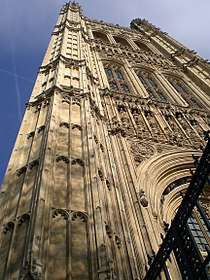 Palace westminster tower pied3.jpg