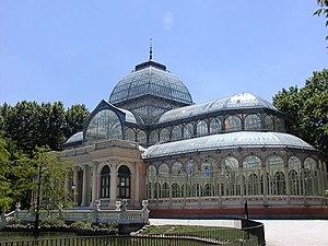 Alberto Palacio - Image: Palacio de Cristal Parque del Buen Retiro