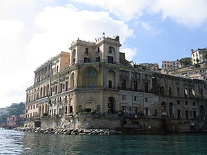 Posillipo - Villa Donn'Anna.