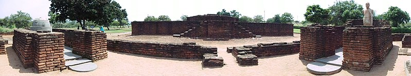File:Panaromic view of the buddha statue and other monuments.jpg