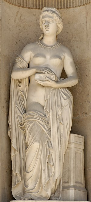 Pandora (1861), by Pierre Loison (1816-1886). ...