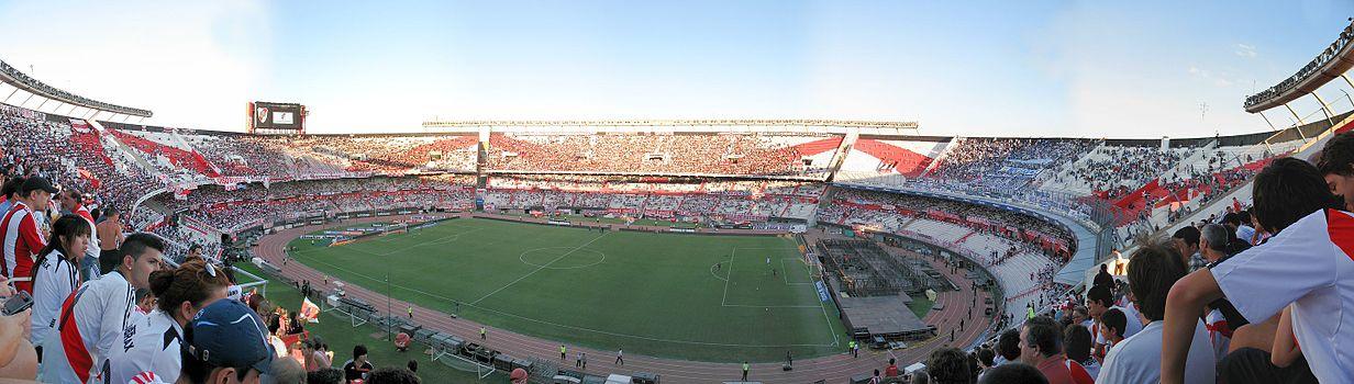 Panoramic view of the Monumental Stadium in 2013. 4bca500938d79