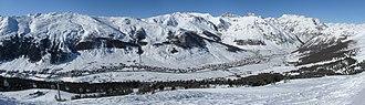 Livigno - Image: Panoramic Livigno