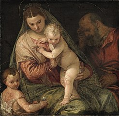 Holy Family with Young Saint John