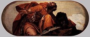 Paolo Veronese - St Mark, San Sebastiano (1556–57)
