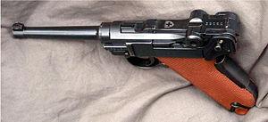Luger pistol - Swiss Pistol 06/29, 7,65x21mm