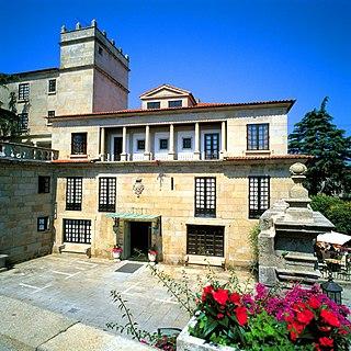 Pazo of the Counts of Maceda Manor house in Pontevedra, Spain
