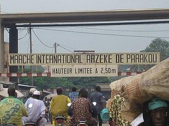 "Parakou - ""Grand Marché Azeke"", the international market"